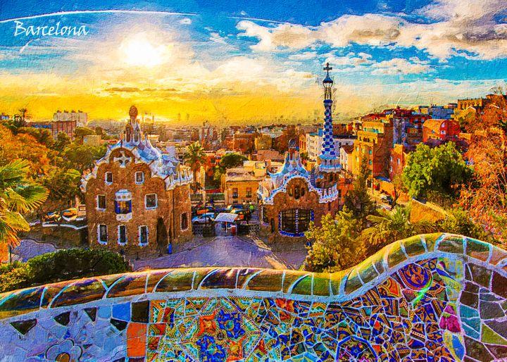 Barcelona - Anxhela Sufa