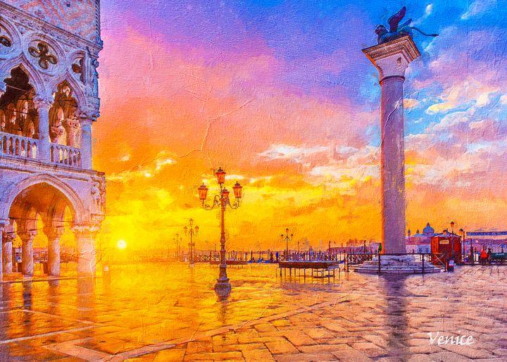 Venice Italy - Anxhela Sufa