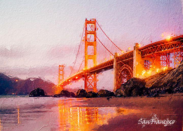 San Francisco - Anxhela Sufa