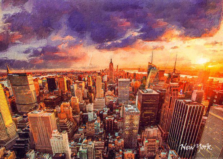 New York - Anxhela Sufa