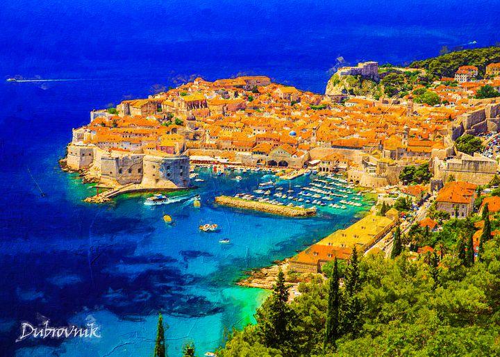 Dubrovnik, Croatia - Anxhela Sufa