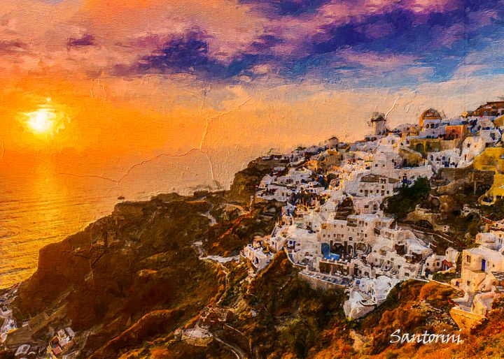 Santorini - Anxhela Sufa