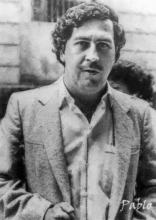 Pablo Escobar Painting - Anxhela Sufa