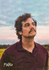 Pablo Narcos Painting