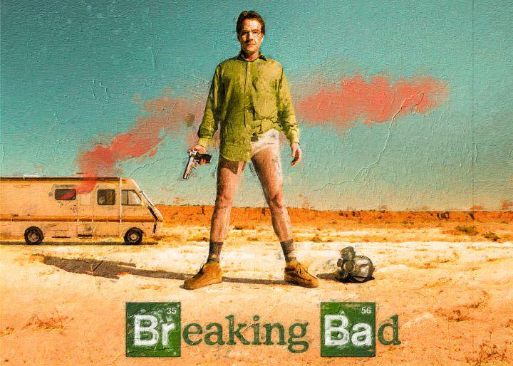 Breaking Bad Painting - Anxhela Sufa