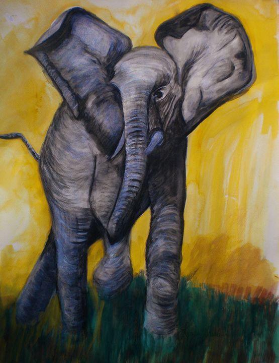 African Elephant - Linda Waidelich