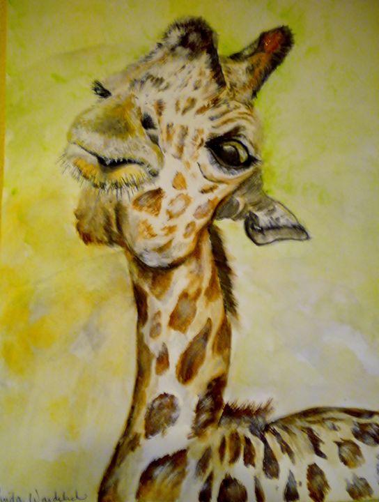 Giraffe - Linda Waidelich