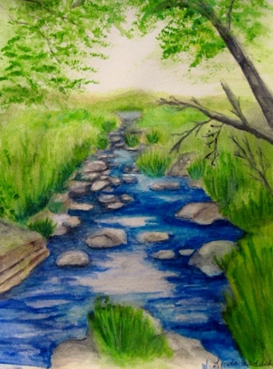 Downstream from Pipestone National P - Linda Waidelich