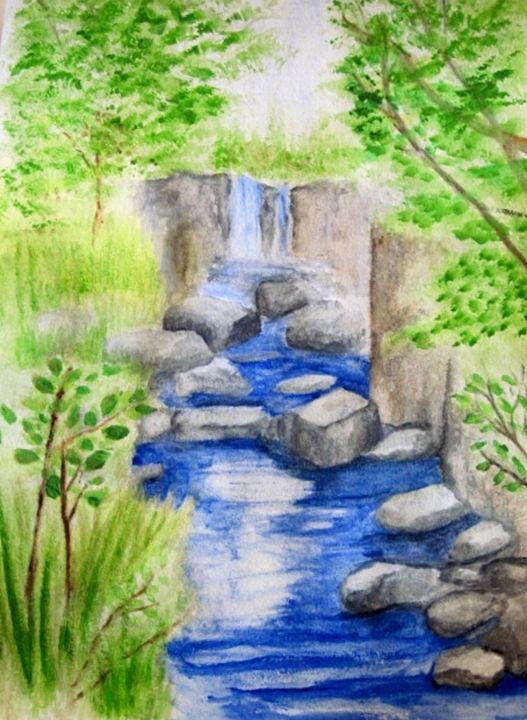 Pipestone Waterfall - Linda Waidelich