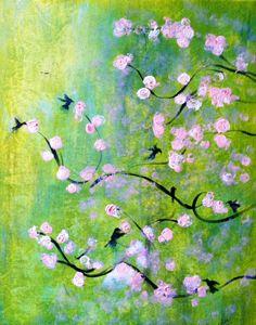 Fluttering Hummingbirds