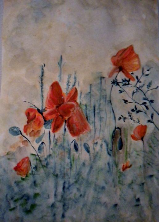 Poppy Field - Linda Waidelich