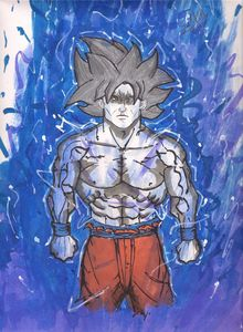 Mastered Ultra Instinct Goku