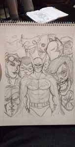 Batman Pencil Cover (not for sale)