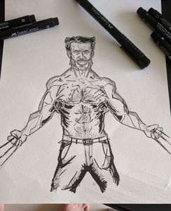 Wolverine Pencils and Ink