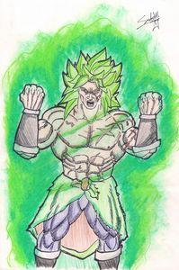 Berserk Broly (Dragonball Super: Bro