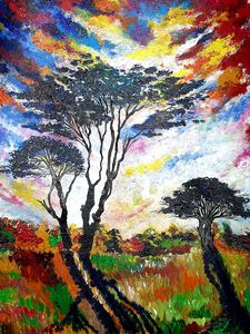 Whispering black trees