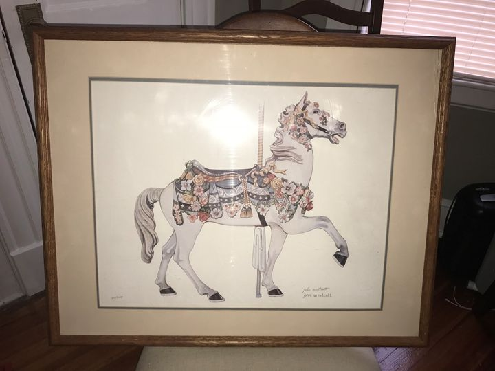 M. IIIions Carousel Horse - Beautiful Prints from Me to You