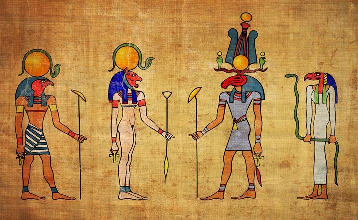egyptian gods - Art Gallery