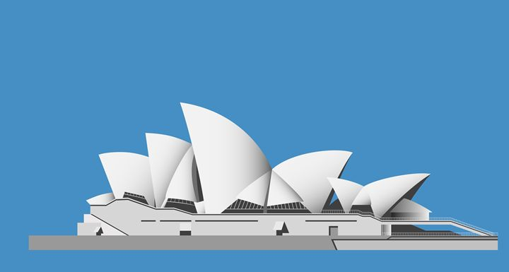 Sydney Opera House Sails - Art Gallery