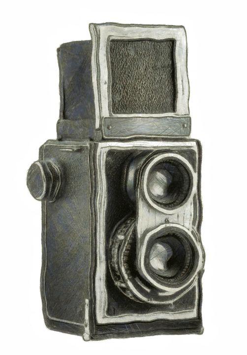 old still camera - Art Gallery