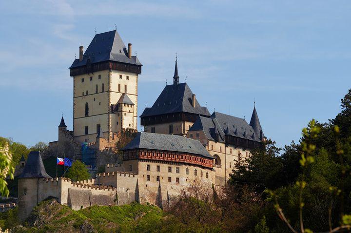 Karlstejn - gothic castle - Art Gallery