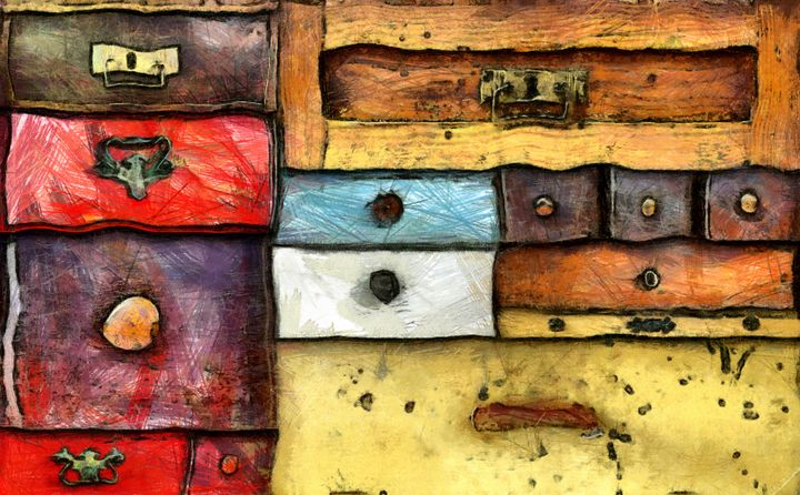chest of drawers - Art Gallery