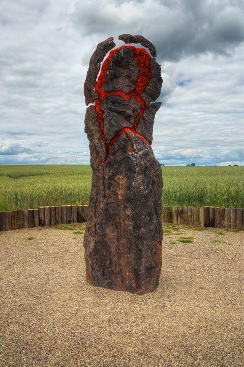 exploding menhir - Art Gallery