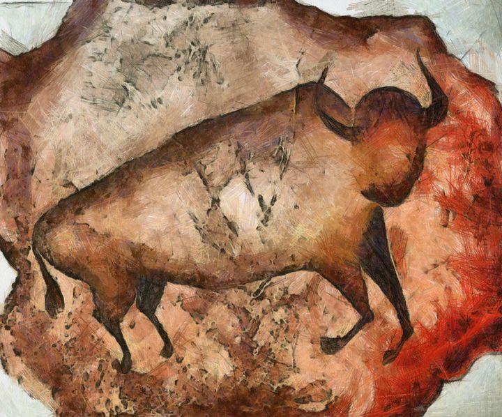bull a la Altamira - Art Gallery