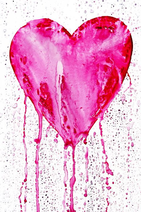 bleeding heart - Art Gallery