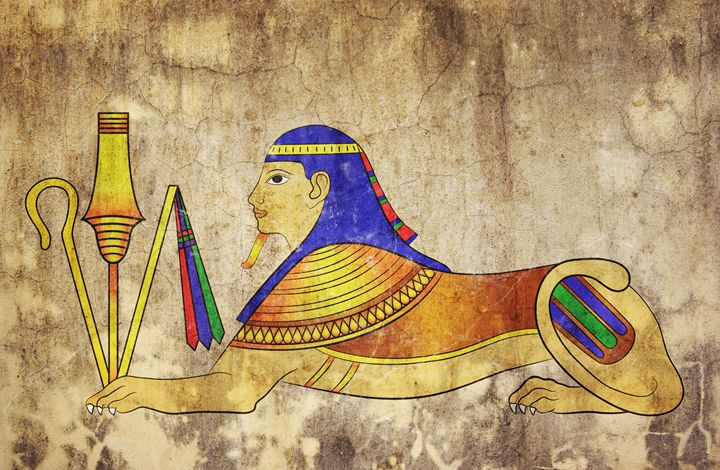 Sphinx - mythical creature of ancien - Art Gallery