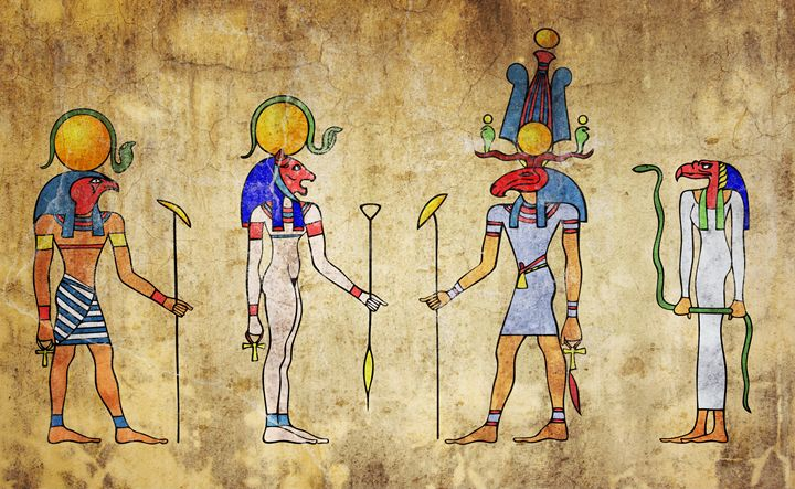 Gods of ancient Egypt - Art Gallery