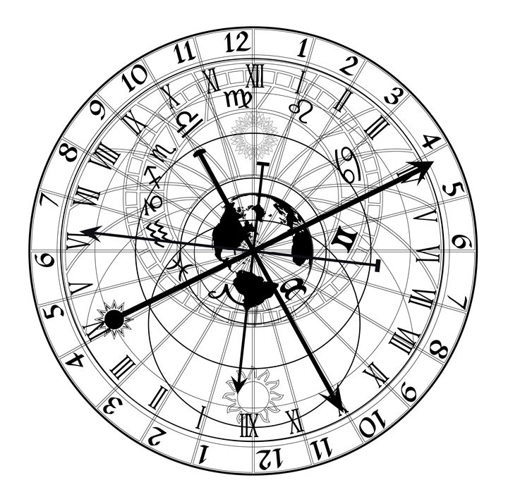 astronomical clock - Art Gallery