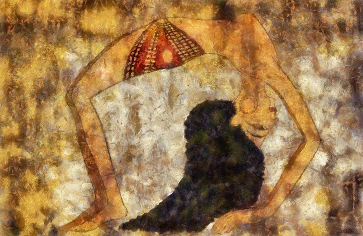 dancer of ancient Egypt - Art Gallery