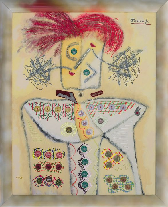 Officer with red hair and decoration - Tomasz