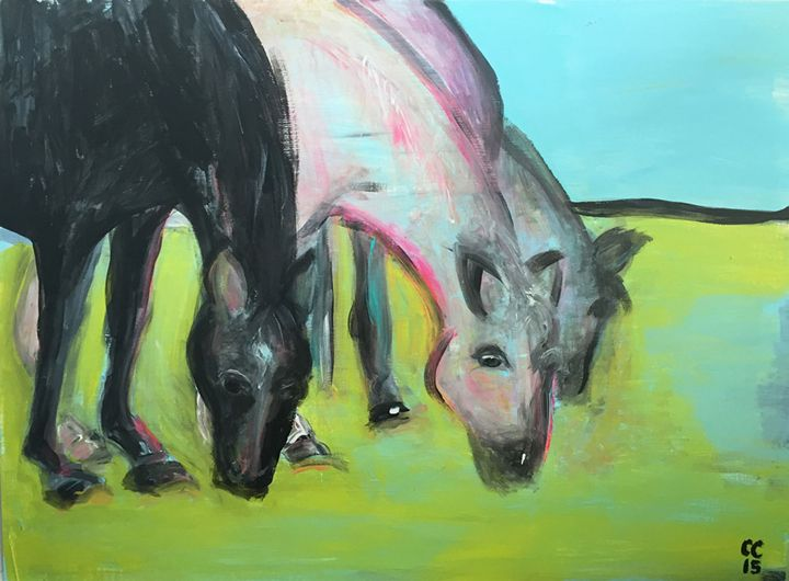 Horses - Courtney Corner