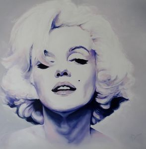 Marilyn - Mel Davies Original Art