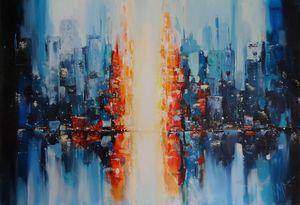 A New Day - Mel Davies Original Art