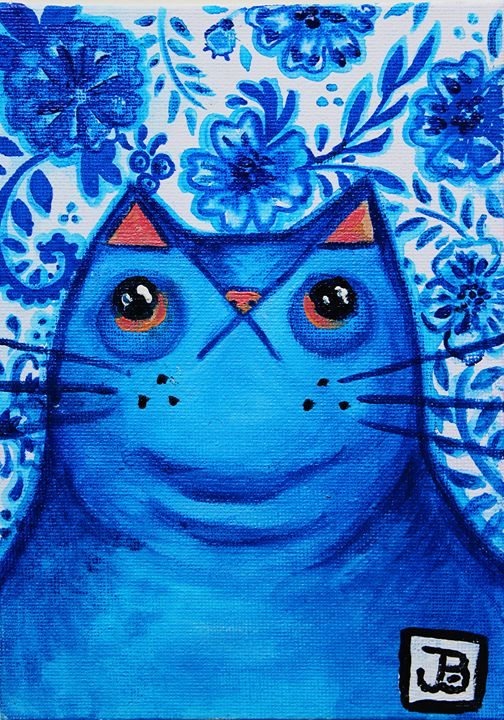 Blue China Cat - JTB