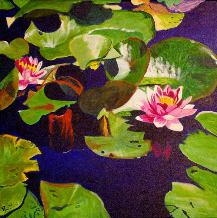Water Lilies - lawrence mccarthy