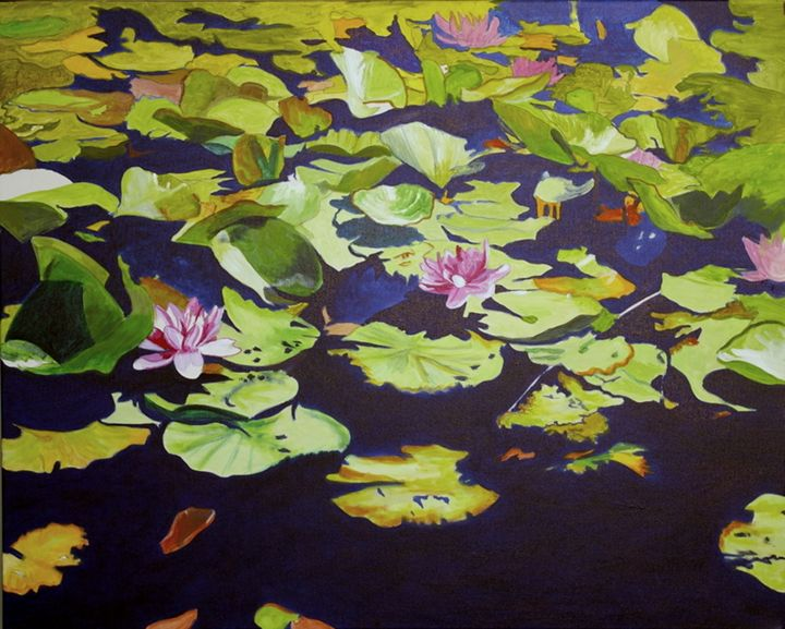 Lilies and Black Water - lawrence mccarthy