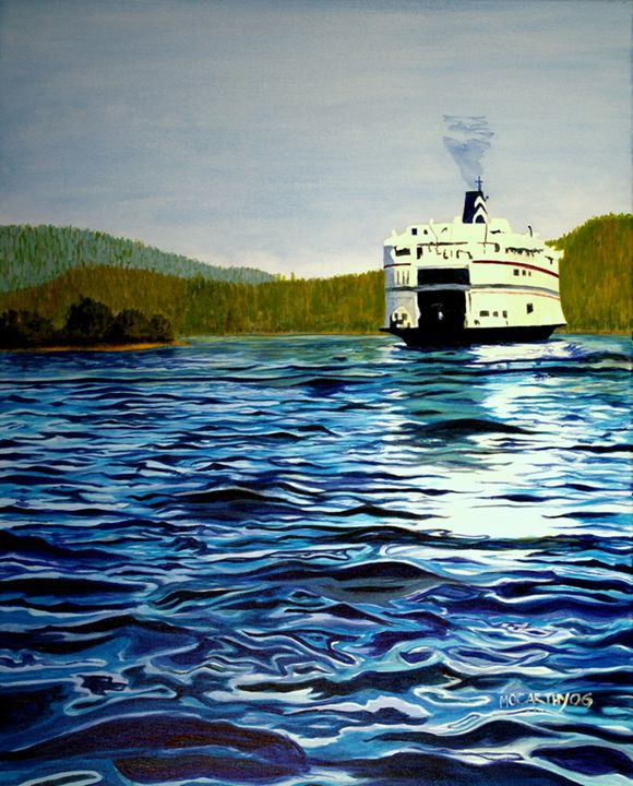 The Gulf Islands - lawrence mccarthy