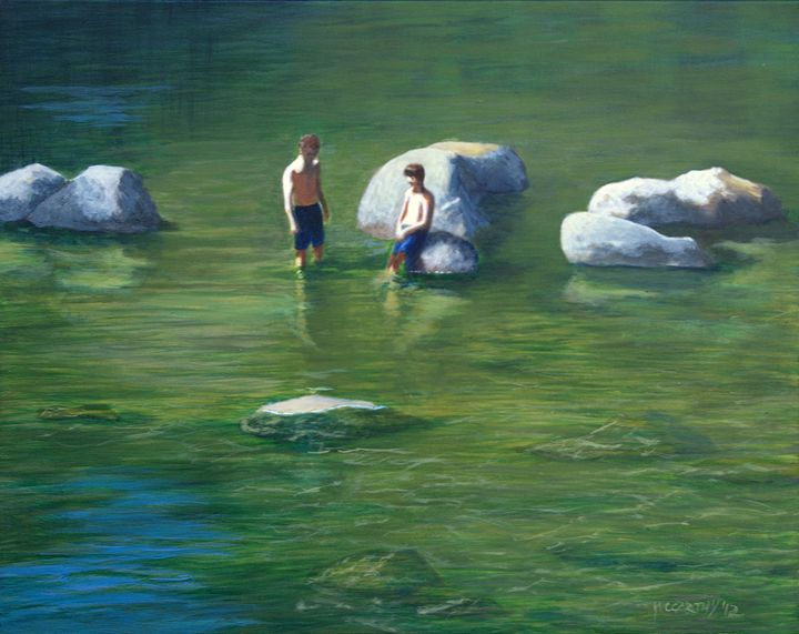 The River Boys - lawrence mccarthy