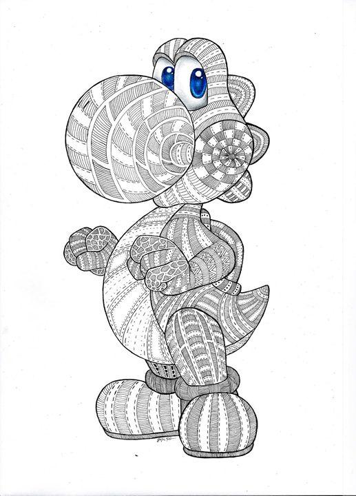 yoshi - Pokemondrawings by Sofie