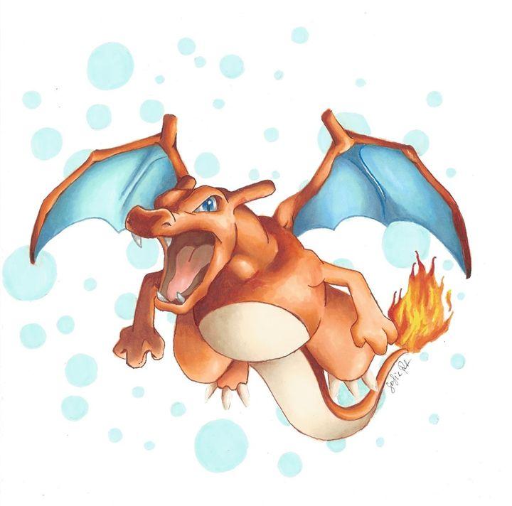 Charizard - Pokemondrawings by Sofie