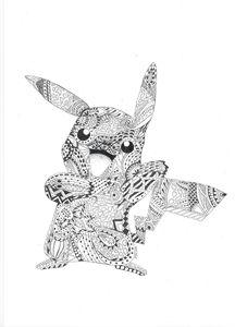 Pokemon Squirtle Kleurplaten Mandala Pikachu Pokemondrawings By Sofie Drawings
