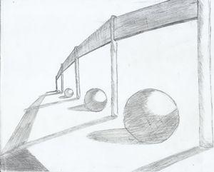 Bayang - bayang bola