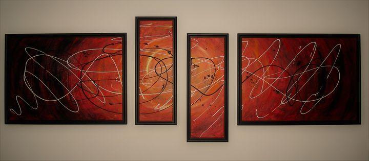 "Painting ""Movement"" - Branko Nemes"