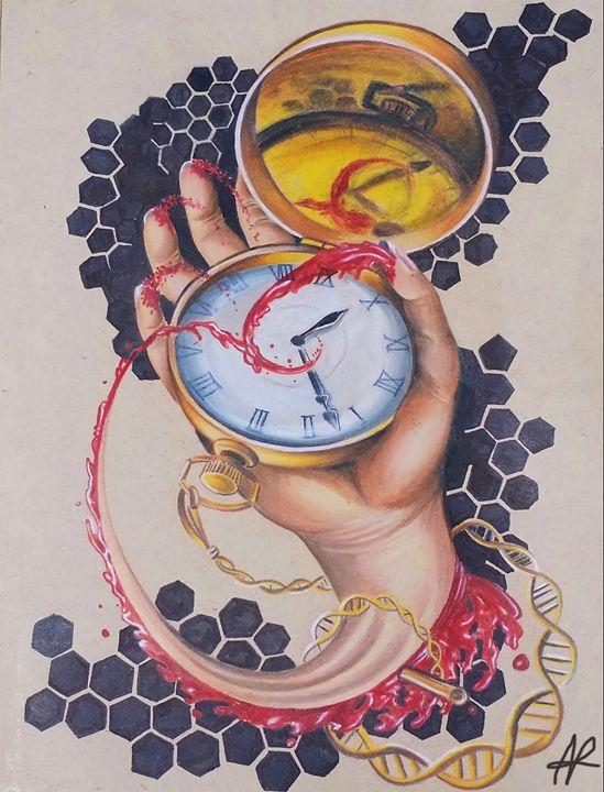 Stolen Time - Ashley Reynolds Art