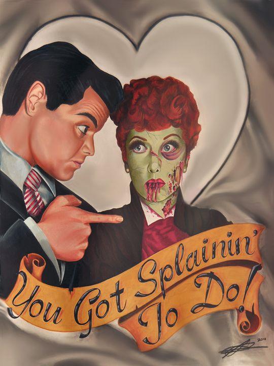 Splain' to Me - Ashley Reynolds Art