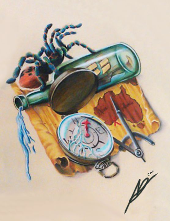 Sail to the edge - Ashley Reynolds Art